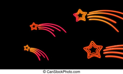 nero star tail color - the star graphic of nero light glow