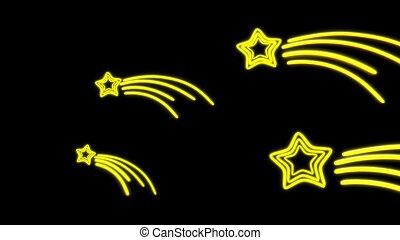 nero star tail - the star graphic of nero light glow