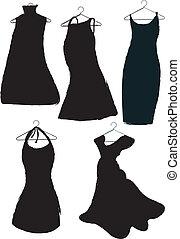 nero, vestiti