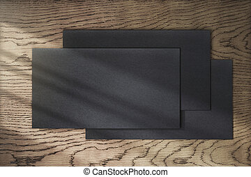 nero, vuoto, carte