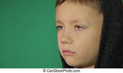 Nervous blinking of a child - Nervous blinking of the...