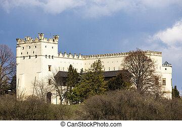 Nesovice castle, Southern Moravia, Czech Republic