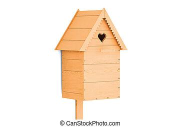 Nest box, 3D rendering
