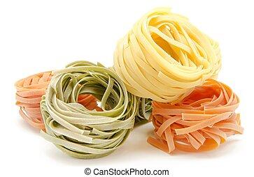 Nest egg Italian pasta