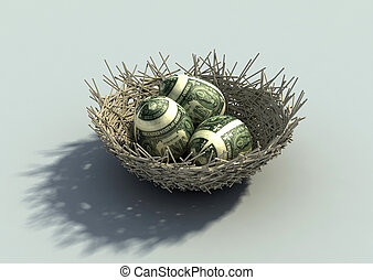Nest Egg metaphor
