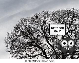 nest, verkoop