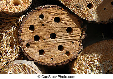 Nesting Box - Nesting box for bees, wasps and beetles