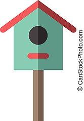 Nesting box or birdhouse
