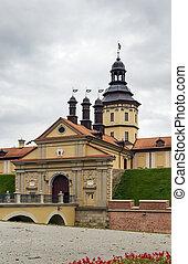 Nesvizh Castle, Belarus - Nesvizh Castle is a residential ...
