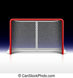 net, black , doel, ijshockey