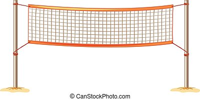 volleyball net clipart vector and illustration 2 210 volleyball net