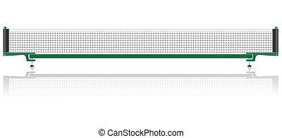 net for table tennis ping pong vector illustration isolated...