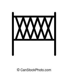 net glyph flat icon