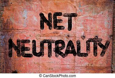 net, neutraliteit, concept