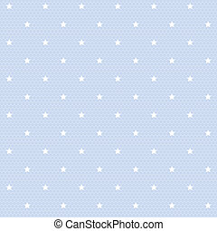 net pattern with stars - Seamless net pattern with stars