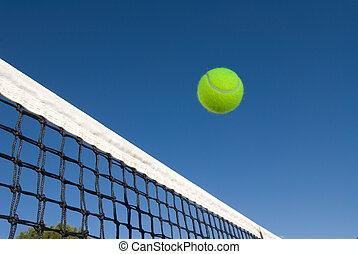 net, tennis bal