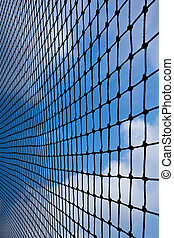 Net with blue sky