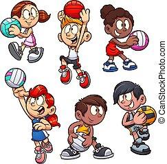 Netball kids