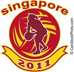netball singapore 2011