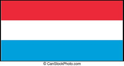 Netherland flag vector illustration isolated on background