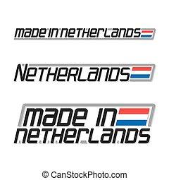 netherlands, 作られた