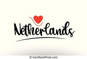 netherlands, 国, 活版印刷, デザイン, テキスト, ロゴ, アイコン