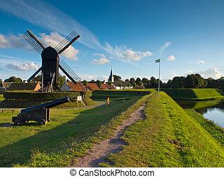 netherlands, 要塞, 村