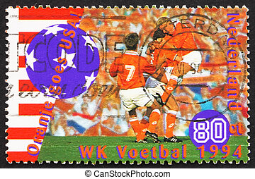 NETHERLANDS - CIRCA 1994: a stamp printed in the Netherlands...