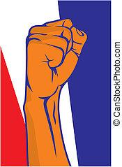 Netherlands fist