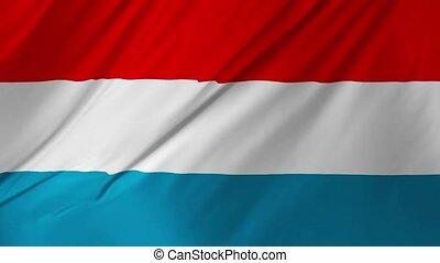 Netherlands national flag animation 2 in 1 - Netherlands...