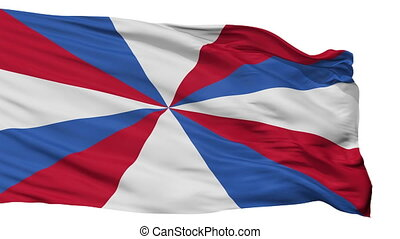 Netherlands Naval Jack Flag Isolated Seamless Loop - Naval...