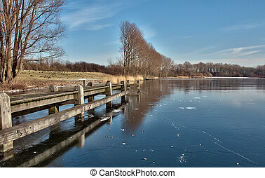 netherlands, winter