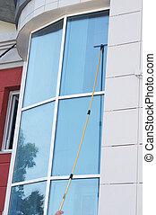 nettoyage fenêtre, bureau