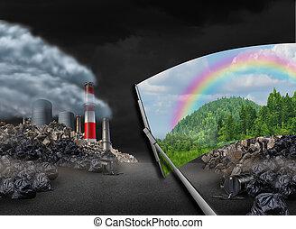 nettoyage, les, environnement