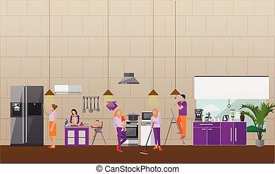 maison femme passer aspirateur nettoyeur vide nettoyage bonne. Black Bedroom Furniture Sets. Home Design Ideas