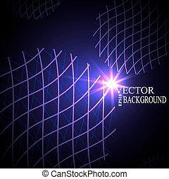 netværk, eps10, globale, mesh, vektor, digitale