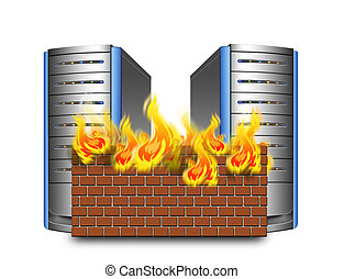 netværk, firewall