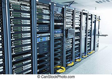 netværk server, rum