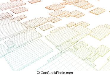 netwerk, architectuur