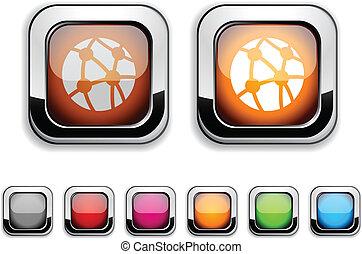 netwerk, button.