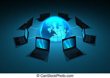netwerk, concept
