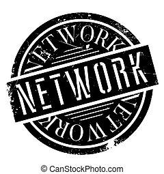 netwerk, rubberstempel