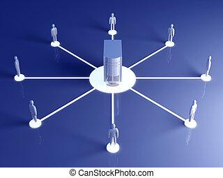 netwerk, samenwerking