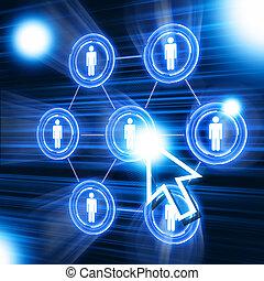 netwerk, structuur, sociaal