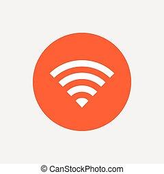 network., αναχωρώ. , wifi, σύμβολο. , ασύρματος , wi-fi