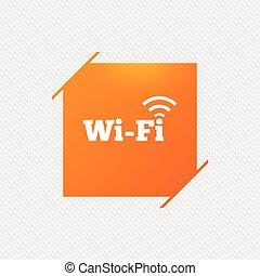 network., αναχωρώ. , wifi, σύμβολο. , ελεύθερος , ασύρματος