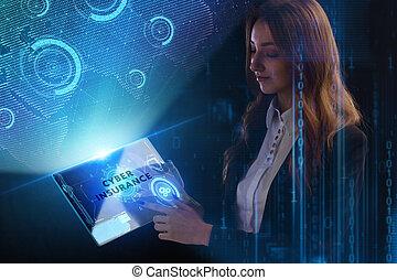 network., γενική ιδέα , γνωμικό , τεχνολογία , εργαζόμενος , inscription:, οθόνη , νέος , κατ' ουσίαν καίτοι όχι πραγματικός , επιχείρηση , επειχηρηματίαs , μέλλον , cyber , internet , ασφάλεια