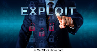 Network Administrator Touching EXPLOIT - Network...