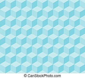 Embossed cuboids abstract background.