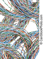 Network chaos of cables